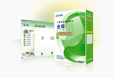 金蝶KIS商贸标准版 小企业进销售、财务一体化管理软件